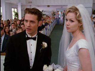 Brandon and Kelly of Beverly Hills 90210