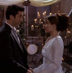 Ross and Emily of Friends