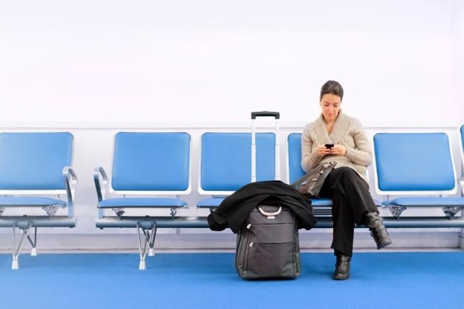 employee traveling